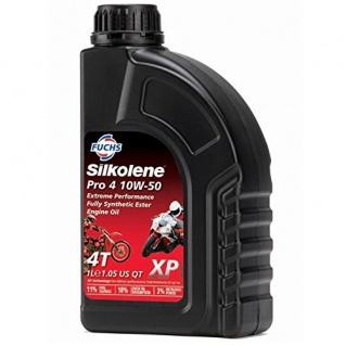10W-50 Fuchs Silkolene Pro 4 XP Motoröl 1 Liter