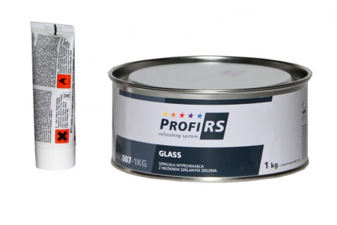 Profirs 0RS007 Glasfaserspachtel Spachtel mit Härter Grün 1kg