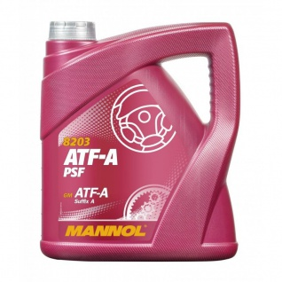 Mannol ATF-A PSF Automatic Fluid Hydraulik und Kraftübertragungsöl 4 Liter