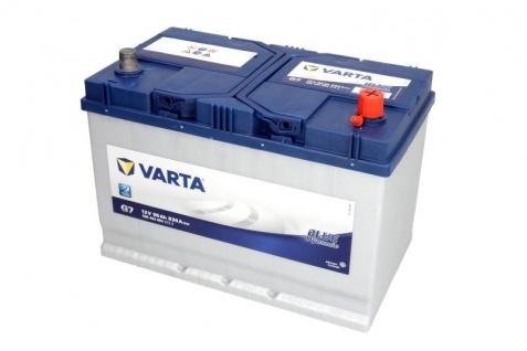 Starterbatterie VARTA G7 Blue Dynamic Autobatterie 12V 95Ah 830A