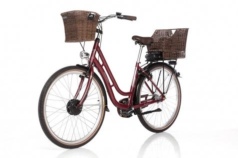 Fischer E-bike City Er 1804 Bordeaux - Vorschau 3