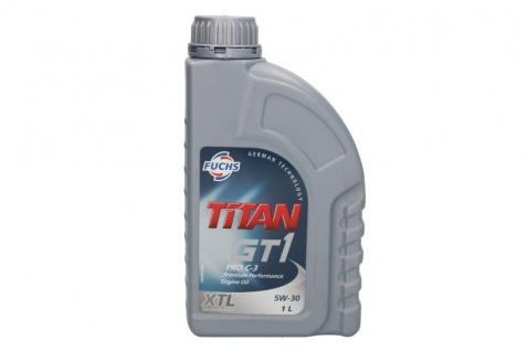 5W-30 Fuchs Titan GT1 Pro C-3 Motoröl 1 Liter
