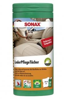 Sonax LederPflegetücher 25 Stk