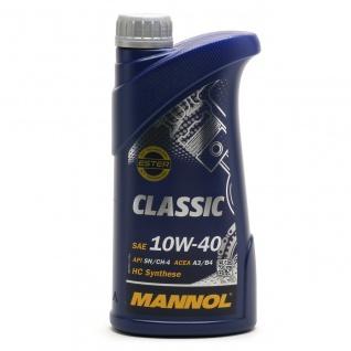 10W-40 Mannol Classic Motoröl 1 Liter