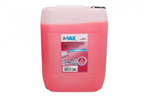 4Max Kühlerfrostschutz Antifreeze Coolant G12+ Pink 20 Liter