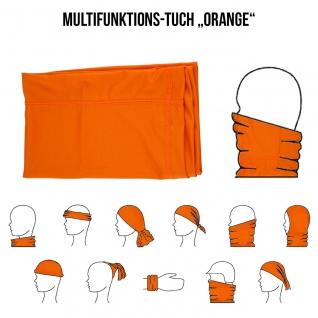 Multifunktionstuch Mund Nasen Schutz Schlauch Maske Orange