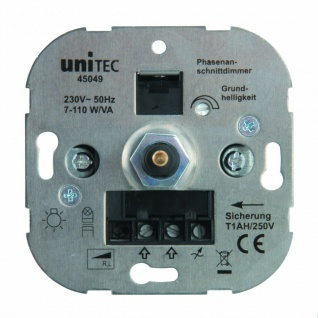 Unitec LED Drehdimmer ECO