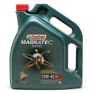 10W-40 Castrol Magnatec Diesel B4 Motoröl 5 Liter - Vorschau 1
