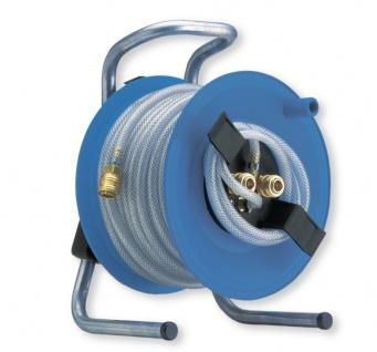 Berner Stahlblech Druckluft Schlauchtrommel PVC Gewebe 20 Meter