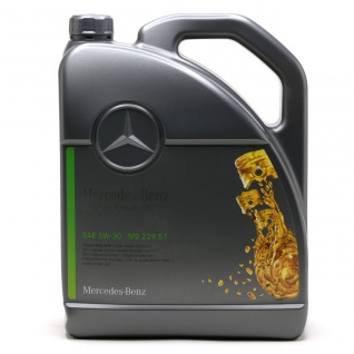 5W-30 Original Mercedes Benz MB 229.51 Motoröl 5 Liter