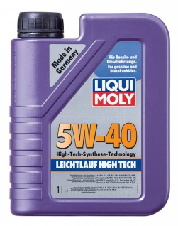 5W-40 Liqui Moly 3863 Leichtlauf High Tech Motoröl 1 Liter