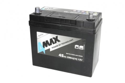 Starterbatterie 4MAX Autobatterie 12V 45Ah 330A Japan
