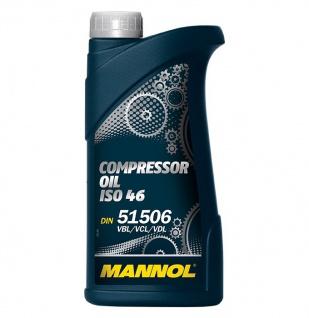 Mannol Compressor Oil ISO 46 1 Liter