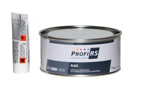 Profirs Flex 0RS008 Kunststoff Universal Spachtel mit Härter Graphit 1 kg