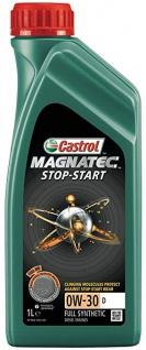 0W-30 Castrol Magnatec Stop-Start D Motoröl 1 Liter
