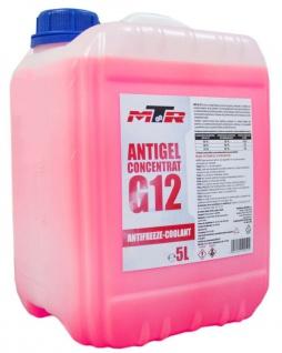 MTR Kühlerfrostschutz Antifreeze Coolant G12 Rosa Konzentrat 5 Liter