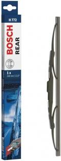 Bosch H772 Wischerblatt 3 397 004 772 Hinten Heckscheibenwischer 340 mm