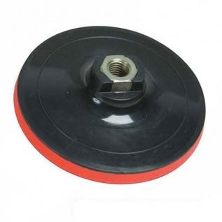 Silverline Klett Stützteller für Winkelschleifer Poliermaschine 125 mm