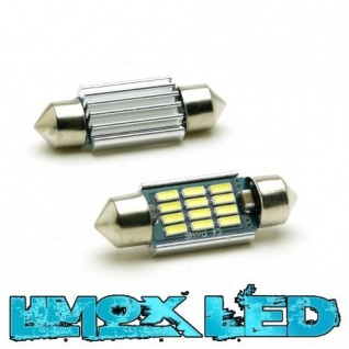 Limox LED Soffitte 12V C5W 36mm 10x 4014 SMD Weiss Canbus