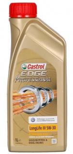 5W-30 Castrol EDGE Professional Longlife III Fluid Titanium Motoröl 1 Liter