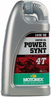 10W-50 Motorex 4T Power Synt Motorrad Motoröl 1 Liter