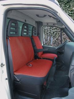 Sitzbezug Set Transporter Universal Como rot