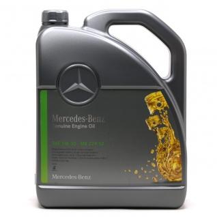 5W-30 Original Mercedes Benz MB 229.52 Motoröl 5 Liter