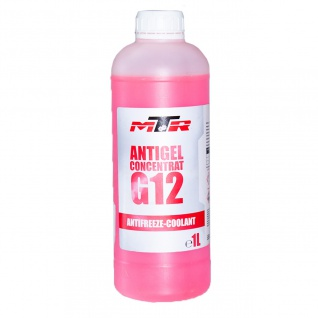 MTR Kühlerfrostschutz Antifreeze Coolant G12 Rosa Konzentrat 1 Liter