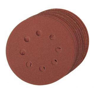 Klett-Schleifscheiben 125 mm gelocht 10er Pack