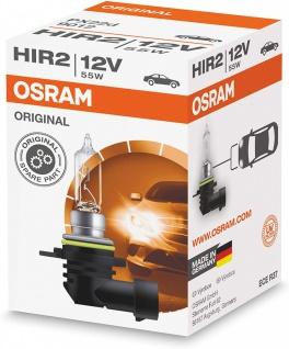 Osram HIR2 Original 9012 PX22d 12V 55W Autolampe Nebelscheinwerfer