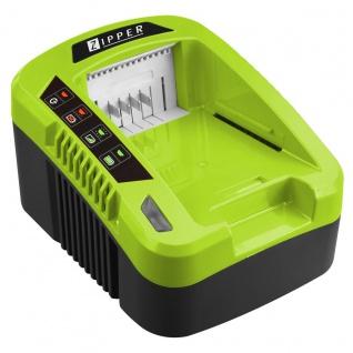 Zipper Ladegerät 40V One For All Geräte Akkumulator ZI-LGR40V-AKKU