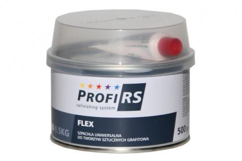 Profirs Flex 0RS008 Kunststoff Universal Spachtel mit Härter Graphit 500 gr