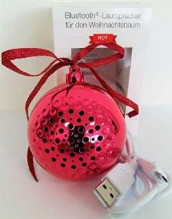 Christbaumkugel Bluetooth Lautsprecher für den Weihnachtsbaum
