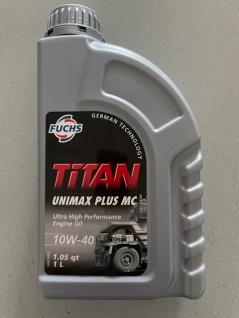10W-40 Fuchs TITAN Unimax Plus MC 1 Liter