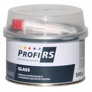 Profirs 0RS007 Glasfaserspachtel Spachtel mit Härter Grün 500 g