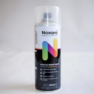 Noxaro Acryl Lackspray Transparent Schutzlackspray Klarlack 450 ml