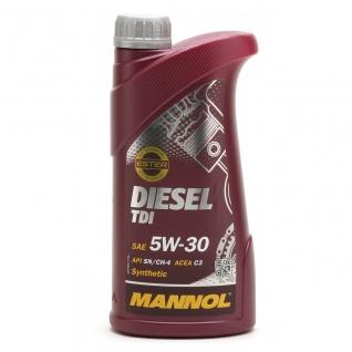 5W-30 Mannol Diesel TDI Motoröl 1 Liter