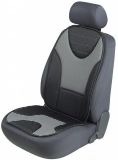 Sitzaufleger Grafis schwarz/grau