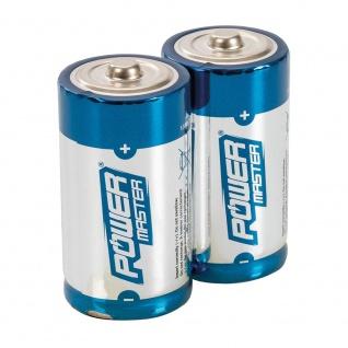 PowerMaster Super Alkali Batterien LR14 Typ C 2er