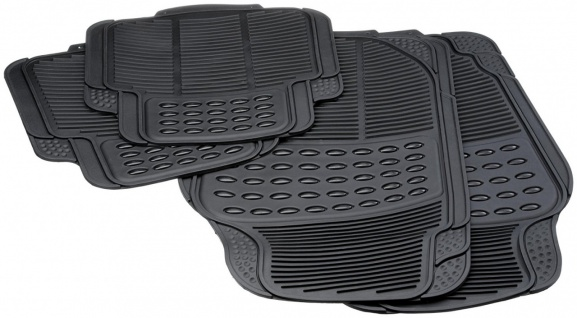 Unitec Autogummimatte Comfort Set 4tlg