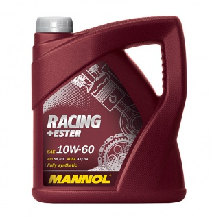 10W-60 Mannol Racing+Ester Motoröl 4 Liter