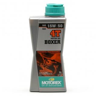 15W-50 Motorex 4T Boxer Motorrad Motoröl 1 Liter