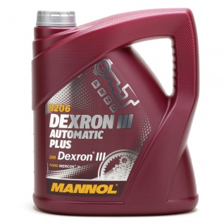 Mannol ATF Dexron III Automatic Plus 4 Liter