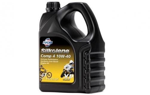 10W-40 Fuchs Silkolene Comp 4 XP 4+1 Liter AKTION