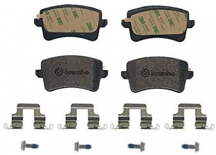 Bremsbelagsatz Scheibenbremse Tuning BREMBO Xtra P 85 099X hinten