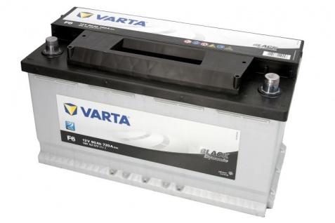 Starterbatterie VARTA F6 Black Dynamic Autobatterie 12V 90Ah 720A