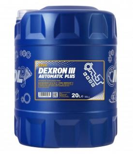 Mannol ATF Dexron III Automatic Plus 20 Liter