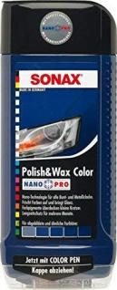 Sonax Polish & Wax Color NanoPro Blau 500 ml