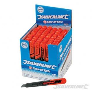 Silverline Cuttermesser Abbrechmesser 18 mm