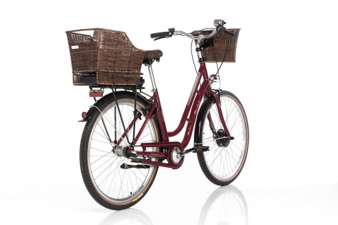 Fischer E-bike City Er 1804 Bordeaux - Vorschau 5